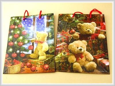 Weihnachtstüte Teddy A5