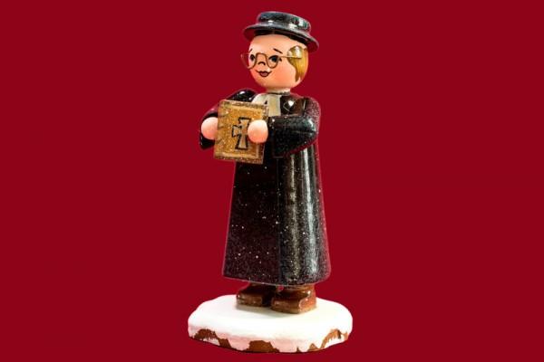 Winterkind Herr Pfarrer