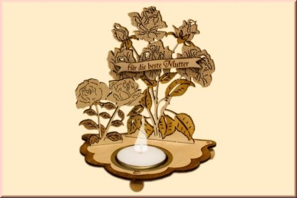 Teelichthalter - Für die beste Mutter
