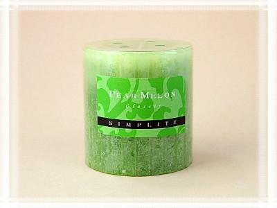 Duftstumpenkerze Birne-Melone