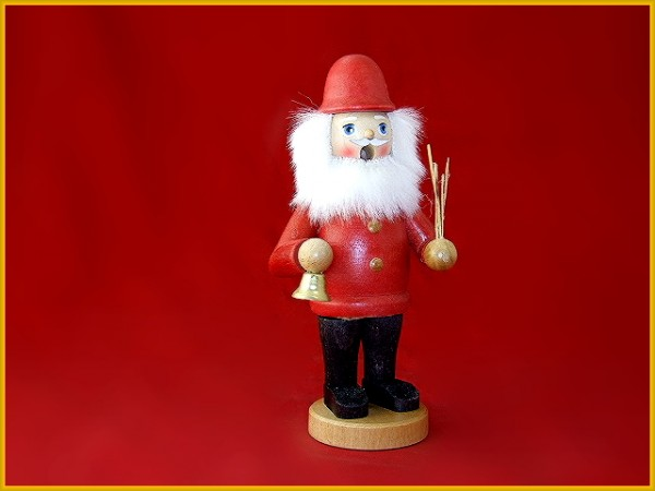 Räuchermännchen Weihnachtsmann farbig