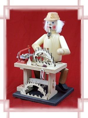 Räuchermännchen Schwibbogenhersteller 3D