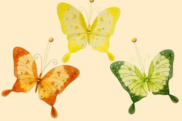 Schmetterling mittel 25cm zum Aufhängen