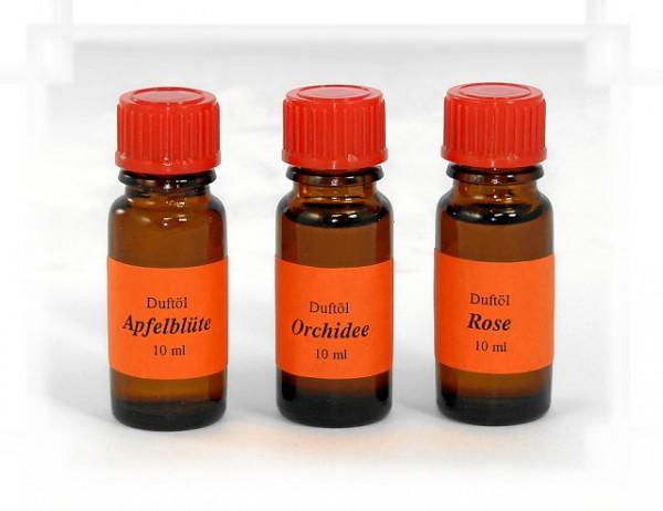 Duftöl 10ml in 3 verschiedenen Sorten - Preis für eine Flasche