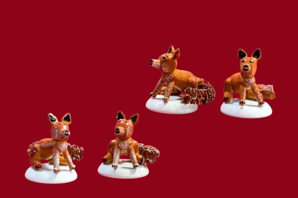 Fuchs 4er Set