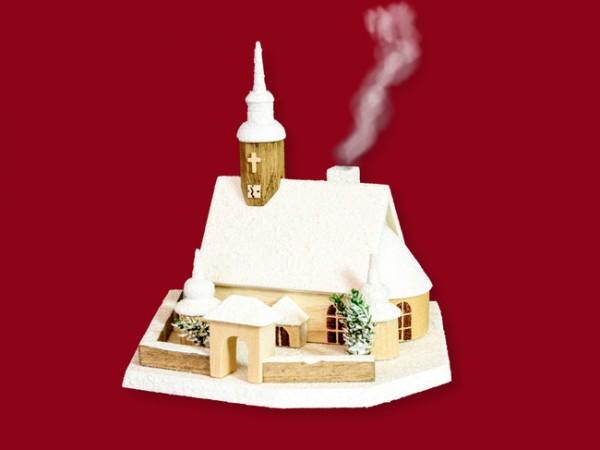 Rauchhaus Crottendorfer Kirche weiß