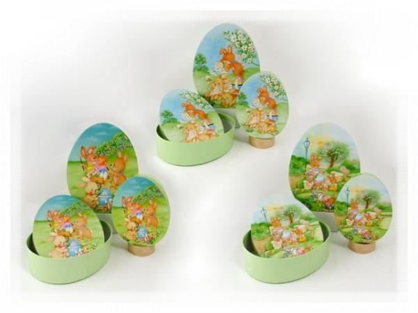 Geschenkbox Ostern zum Befüllen 3er Set