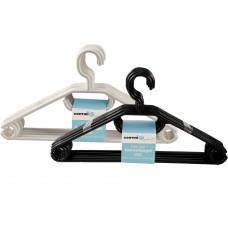 Kleiderbügel drehbar mit Anti-Rutsch-Rillen 10er Set