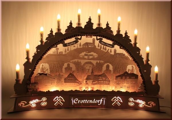 Schwibbogen Panorama Motiv Crottendorf