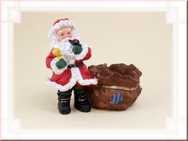 Weihnachtsmann mit Füllsack