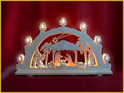 Schwibbogen Christi Geburt 3D