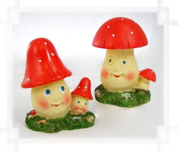Spardose Pilz rot - Stückpreis