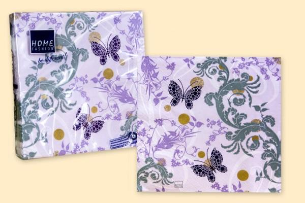 Servietten 20er Pack Schmetterlinge lila