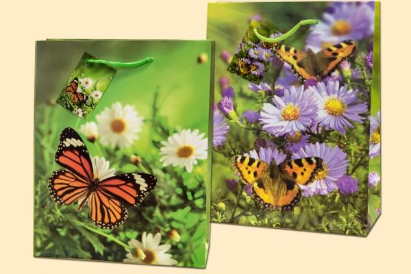 Geschenktüte Schmetterling A4