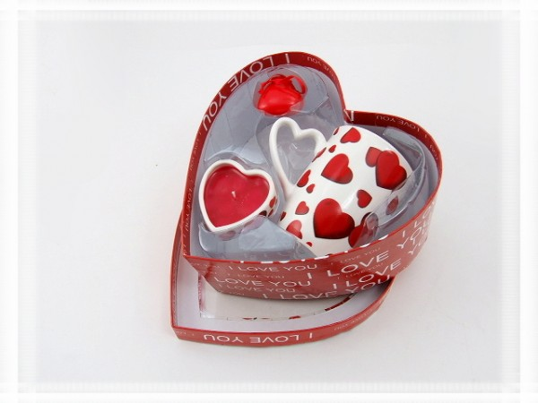 Geschenkpackung Herz