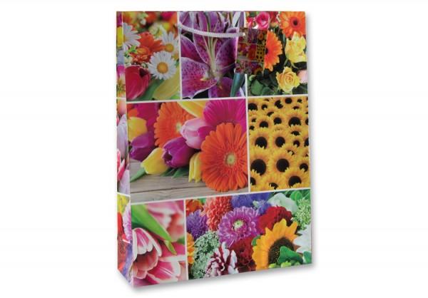 Tüte Blumen A4
