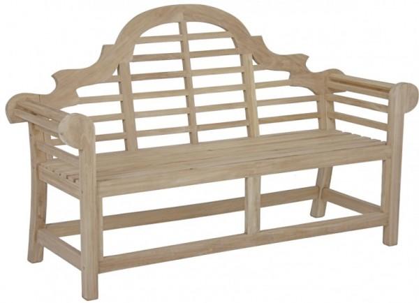 Gartenbank 3-Sitzer aus hochwertigem Teakholz