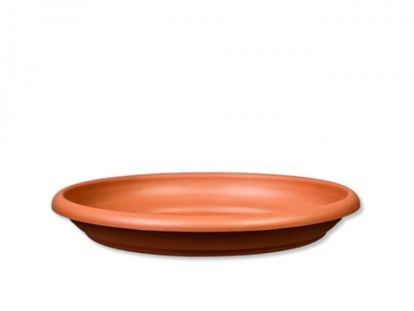 Untersetzer D28cm für Pflanzkübel D30cm Terracotta