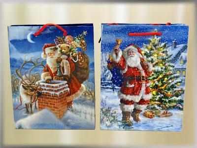 Weihnachtstüte Santa A5