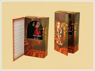 Geschenkbox als Grußkarte mit Figur & Melodie
