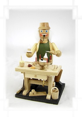 Räuchermännchen Adventsleuchterhersteller mit Spielwerk