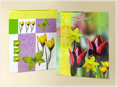 Tüte Frühling Tulpe & Krokus A5