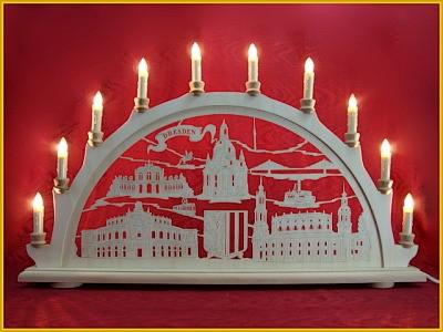 Schwibbogen Dresden 10-flammig