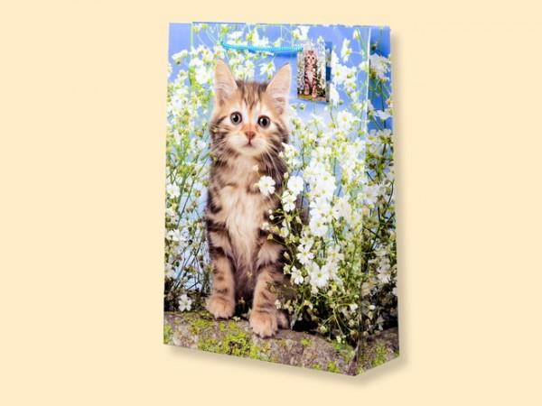 Geschenktüte Katze A4