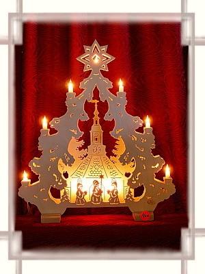 Lichterspitze Seiffner Kirche 2D