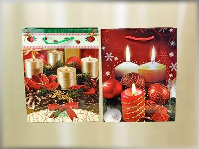 Weihnachtstüte Adventskerzen A5