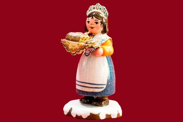 Winterkind Zuckerbäckerin