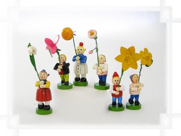Blumenkinder Set 12-teilig