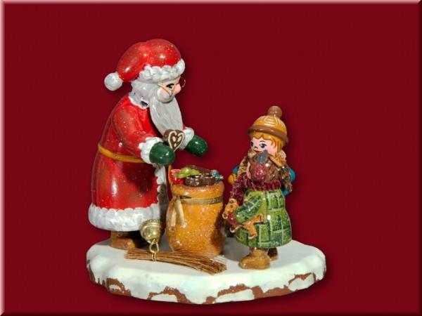 Winterkind Danke lieber Weihnachtsmann 8x7,5cm