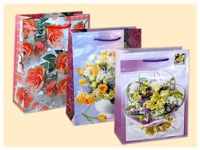 Geschenktüte Blumenstrauß A5