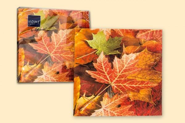 Servietten 20er Pack Motiv Herbstlaub