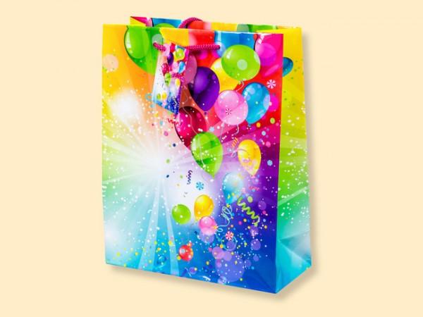 Geschenktüte Luftballons A4