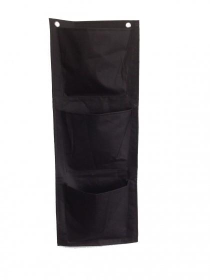 Pflanz-Tasche mit drei Fächern aus Nylon