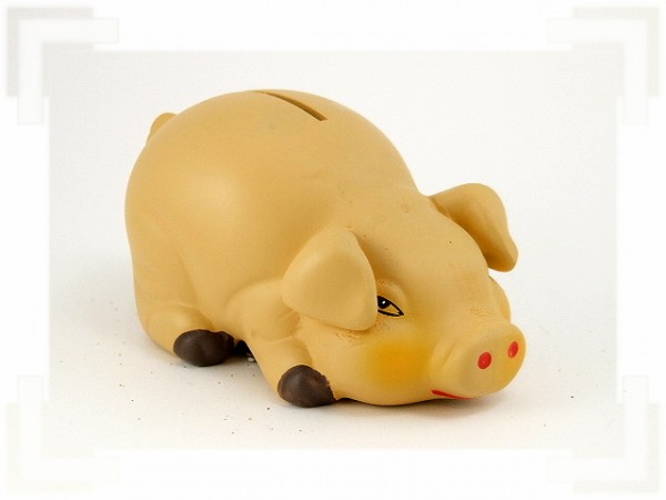 Sparschwein aus Keramik