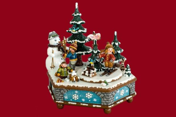 Spieldose Winterzeit