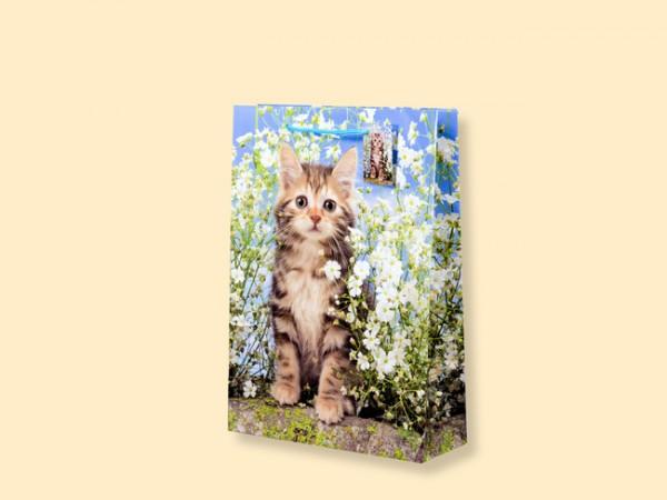 Geschenktüte Katze A5