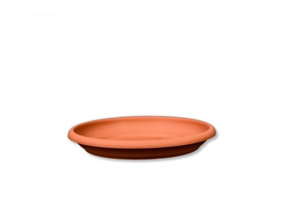 Untersetzer D14cm für Pflanzkübel D15cm Terracotta