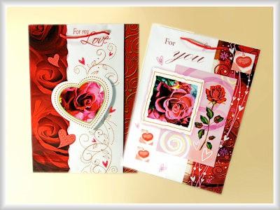 Geschenktüte Rosen A4